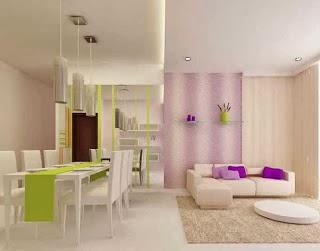 bentuk ruang tamu rumah minimalis