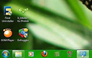 warna taskbar windows 7