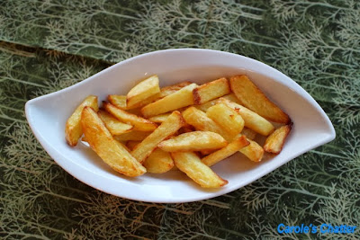 Baked fries by Carole's Chatter