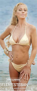 posado belen esteban bikini ursula andress
