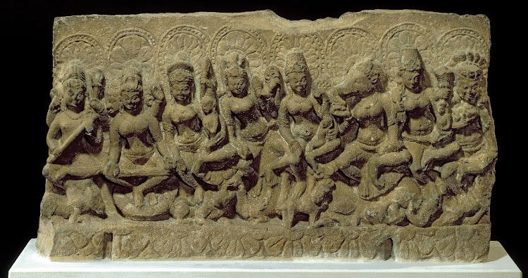 Saptamatrika (Mother Goddesses) - 10th Century AD