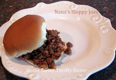 Crockpot Sloppy Joes Recipe
