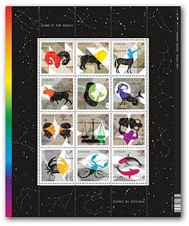 Signs of the Zodiac: Sagittarius, Capricorn, Aquarius and Pisces - www.canadapost.ca