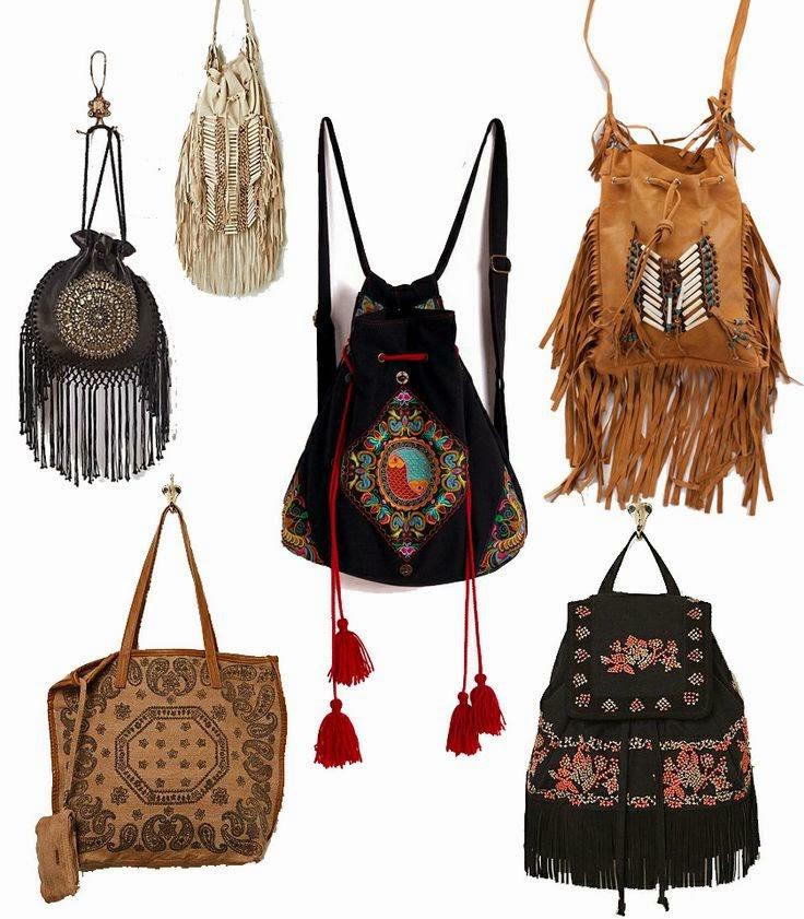 Бохо стиль сумка своими руками - Азбука идей