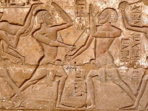 القتال من معبد مدينة هابو