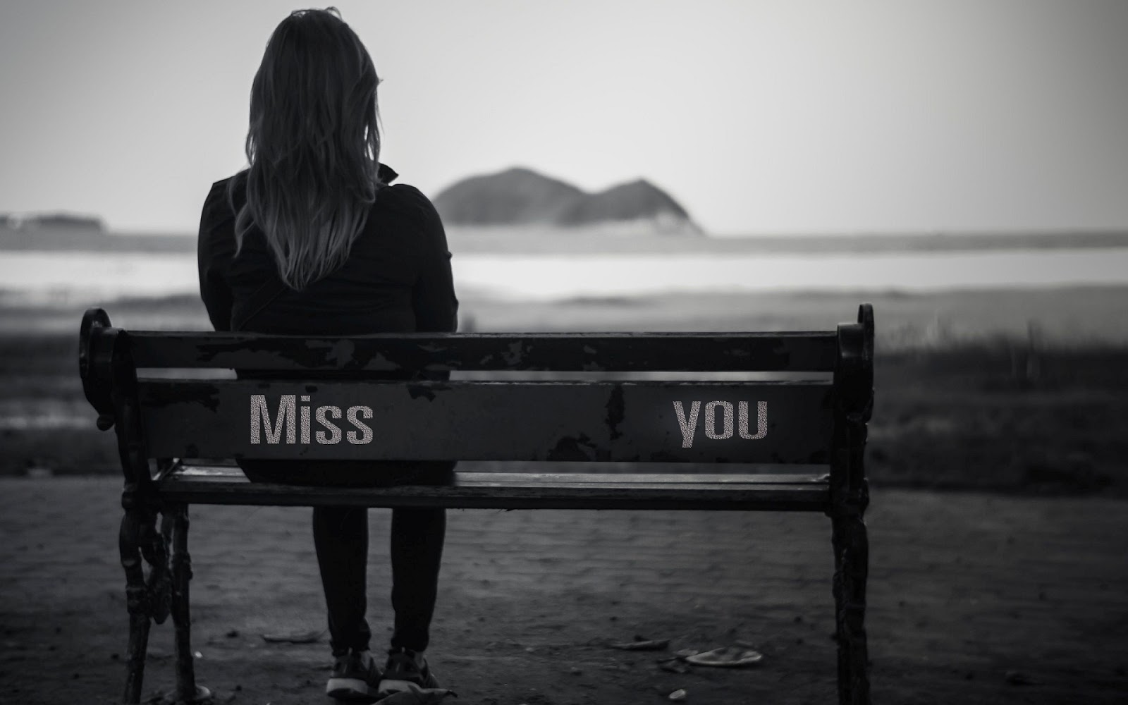 I Miss You Image HD Girl waiting for Her Lover