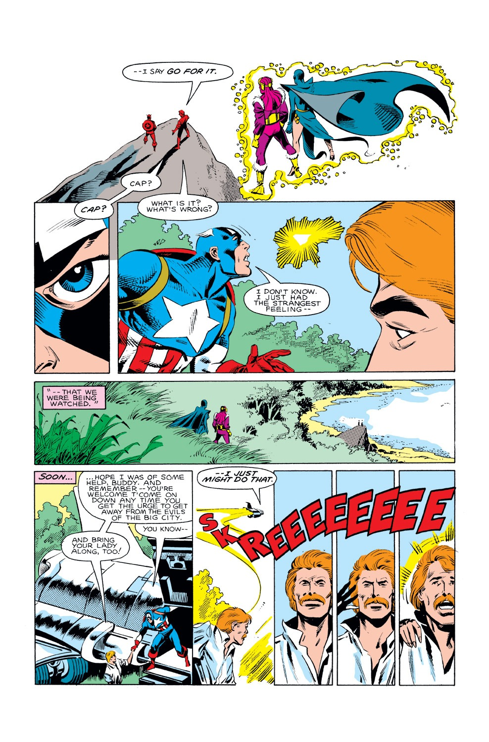 Captain America (1968) Issue #293 #221 - English 13