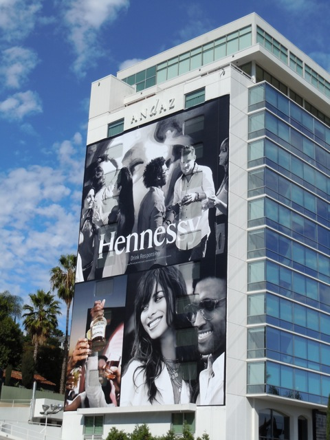 Hennessy Cognac billboard