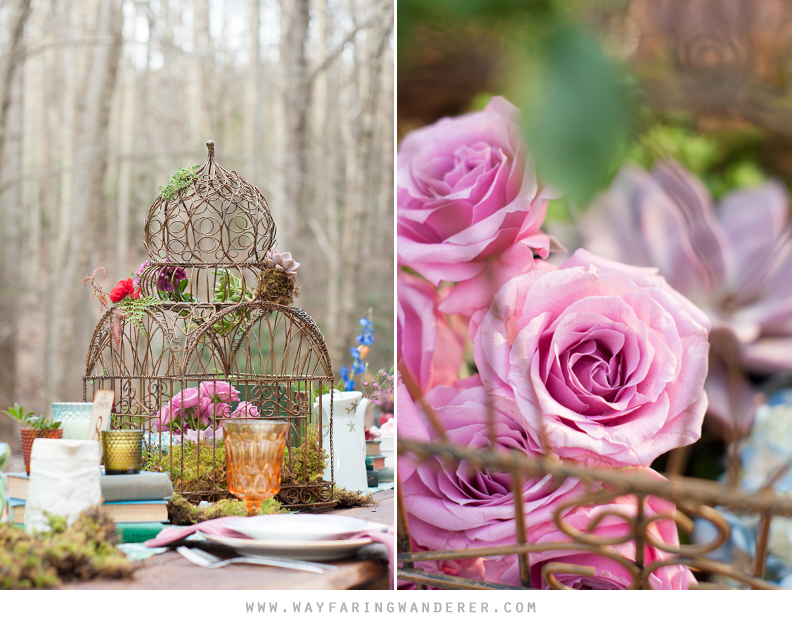 Alice in Wonderland Wedding Styled Shoot by Wayfaring Wanderer | www.wayfaringwanderer.com