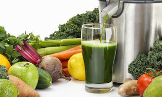 healthy with juicing