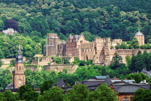 Những lâu đài đẹp như trong cổ tích tại Đức