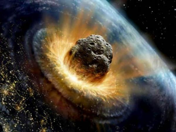 Impacto Meteorito Tierra