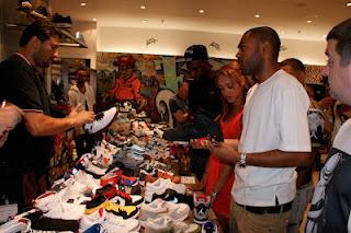 fresh laces, Kano, Harvey Nichols, Sneaker event, Trainers