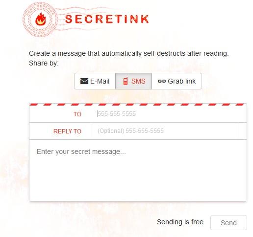 موقع secretink