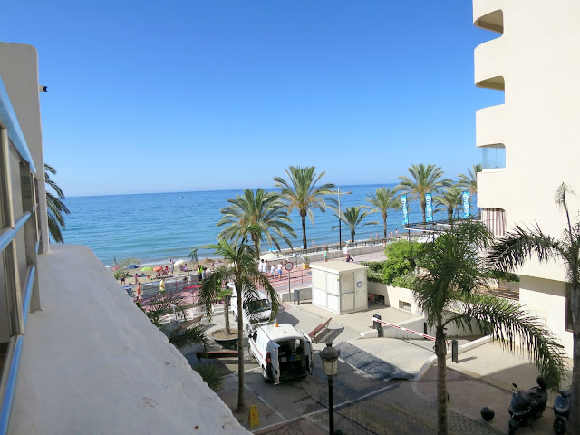 Marbella Hotel Summer Holiday Puerto Azul Balcony Sea View