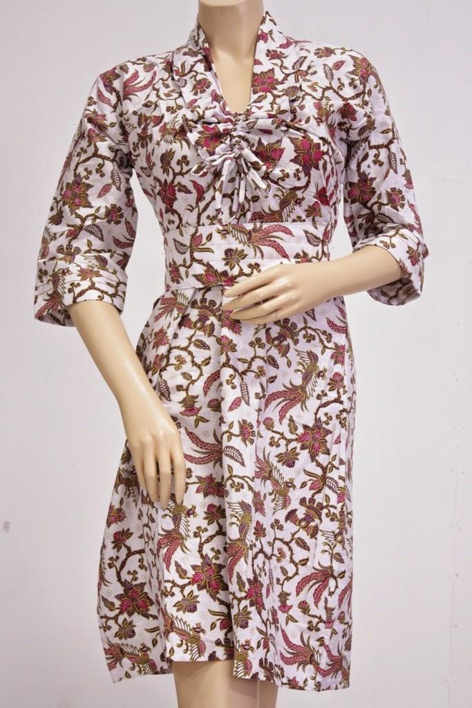 model-dress-batik-modern-1