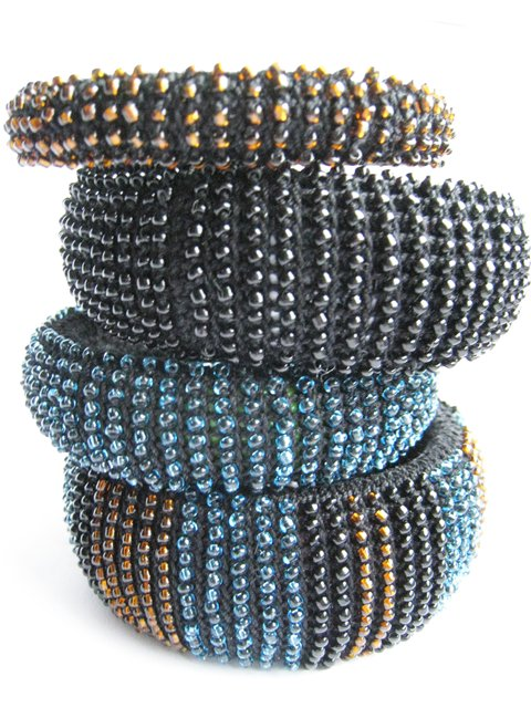 crochet knit unlimited: Crochet with beads.