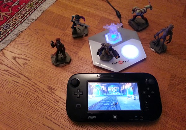 Off-TV play Wii U Disney infinity