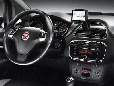 Fiat Punto 2012 interieur