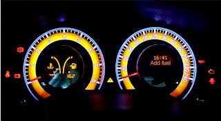 عدادات السرعة للسيارة BYD L3 2015 بتقنية LED