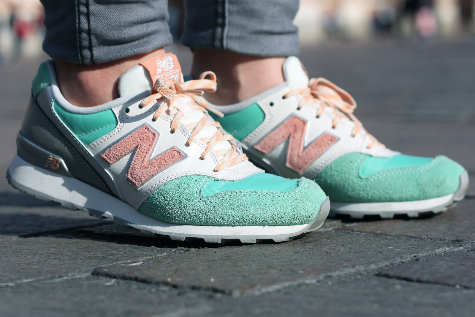 new balance rose poudre