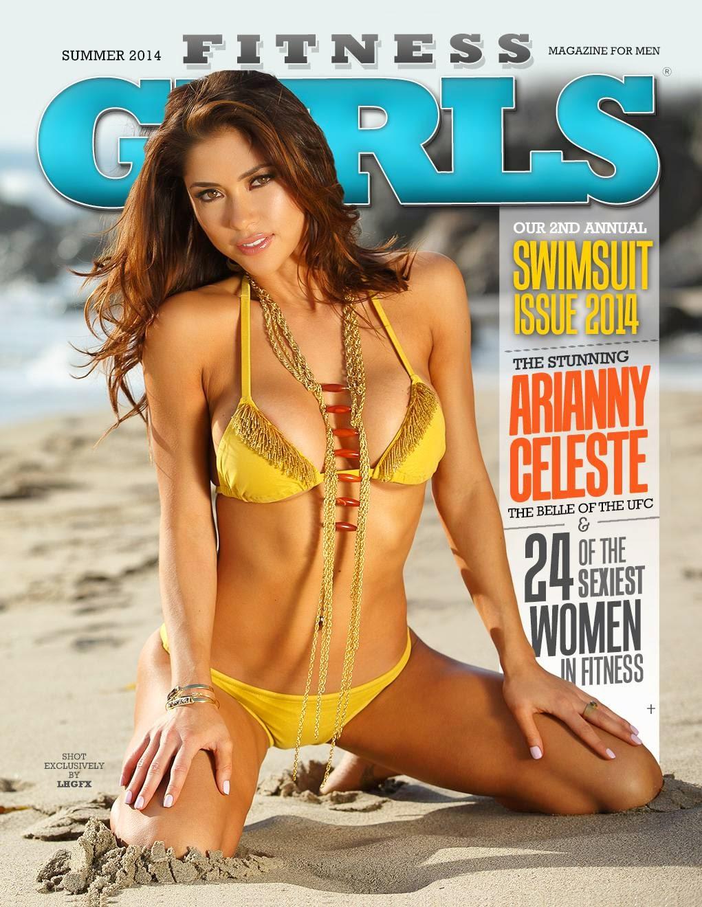 Arianny Celeste HOT Fitness Gurls Magazine Photoshoot