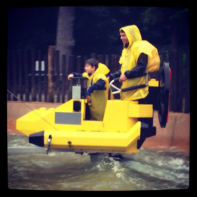 S.Q.U.I.D. Surfer water ride at Legoland windsor