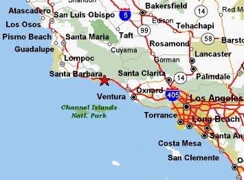 News Tourism World Tourist Map Of Santa Barbara City Images
