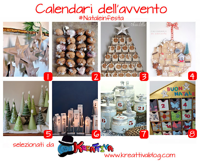 24 idee e tutorial per calendari dell' avvento fai da te [raccolta]