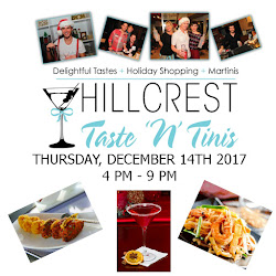 Don't Miss The Annual Hillcrest Taste 'N' Tinis Holiday Event - December 14!