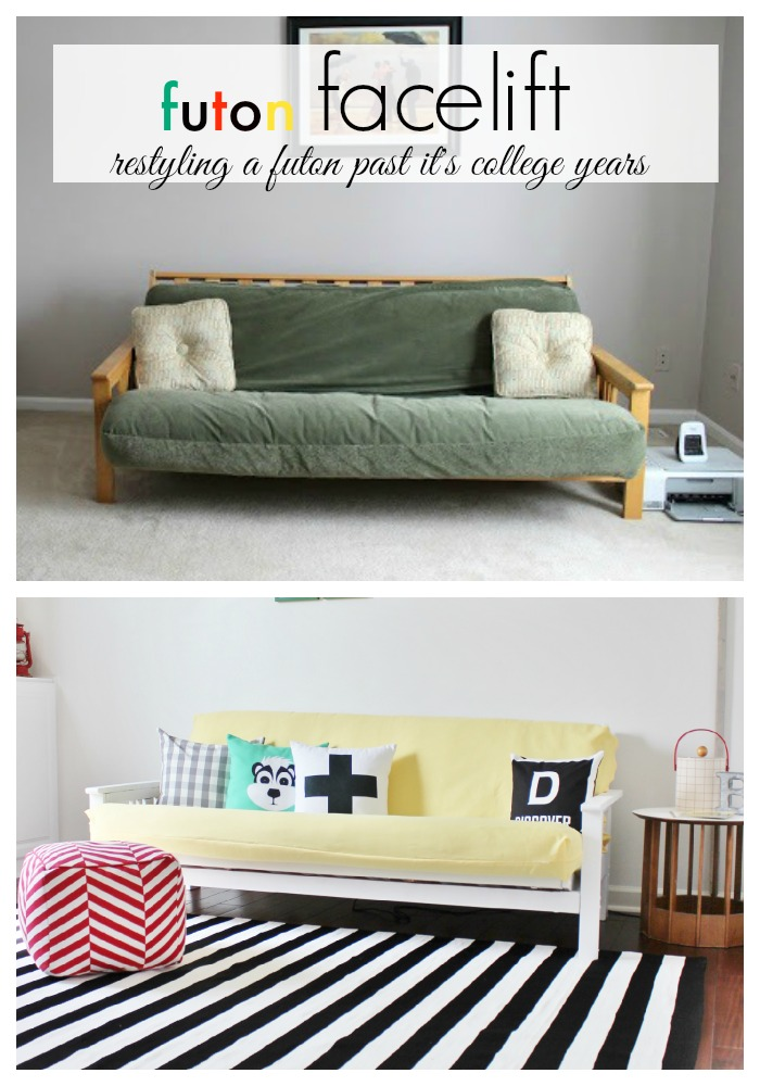 how to make a futon taller