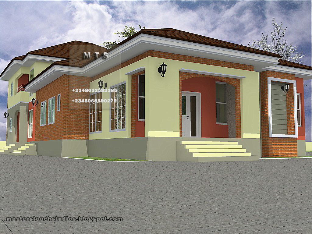 4 bedroom bungalow 3 bedroom duplex Bungalow house plans 3 bedrooms