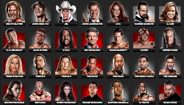 WWE 13 Attitude Era Roster