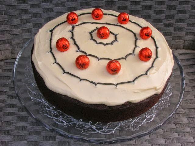 Chocolate Halloween Cake