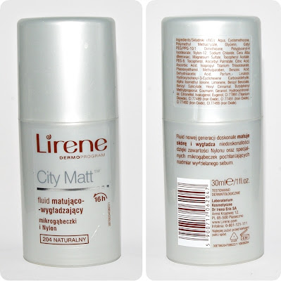 Lirene City Matt, 204 Naturalny :)