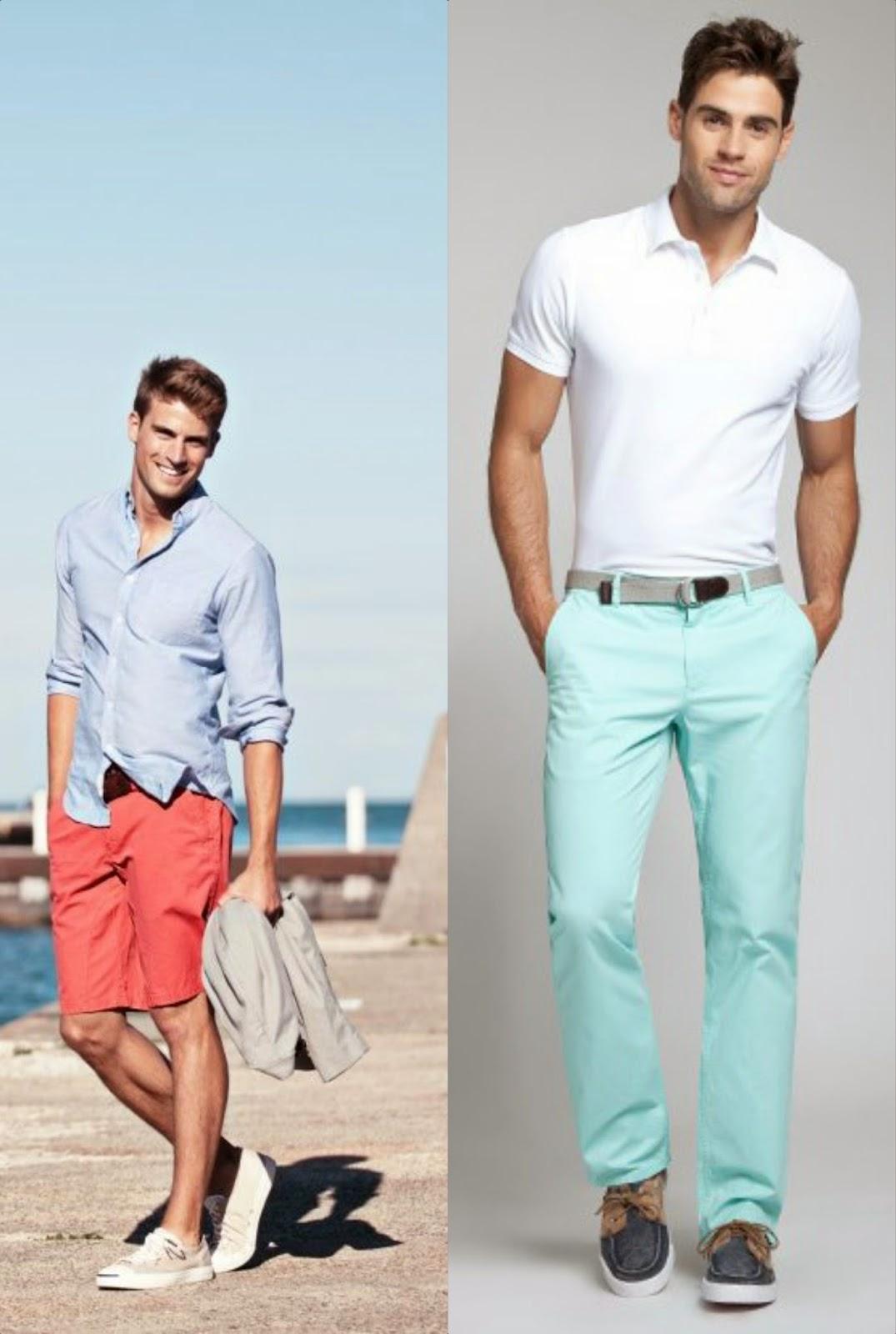 Men's Fashion Trend: Pastels