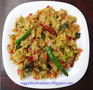 Oats Vegetable Upma