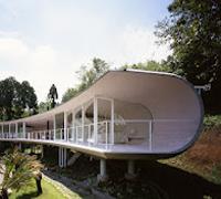 Villa Crescent de Shigeru Ban