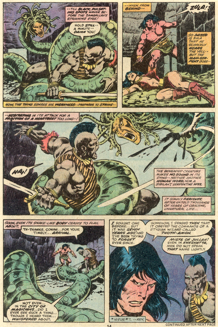 Conan the Barbarian (1970) Issue #89 #101 - English 11