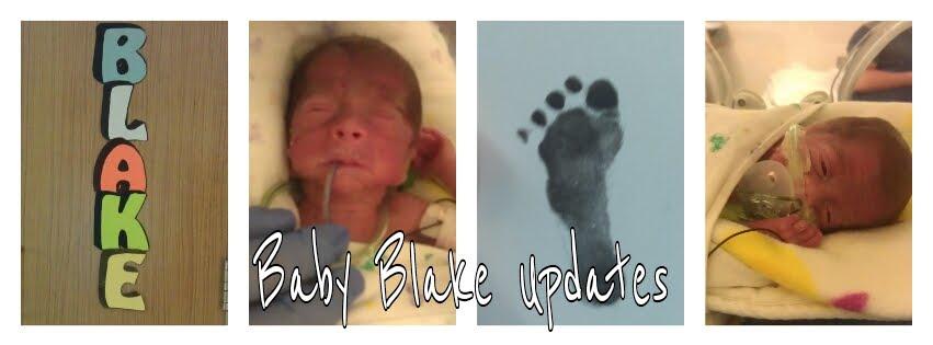 Baby Blake Updates
