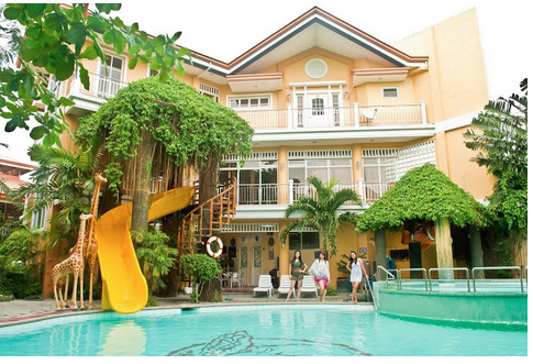 Bulacan resorts philippines cherubin garden resort in for Pool garden resort argao