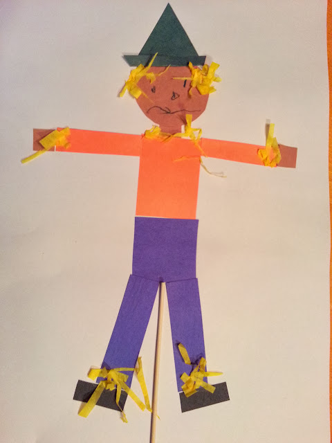 scarecrow crafts for preschoolers choices for children quot piecemeal quot scarecrow 844