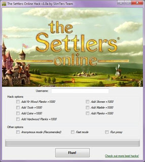 Adders Hacks: The Settlers Online Hack Cheat Tool v1.0a