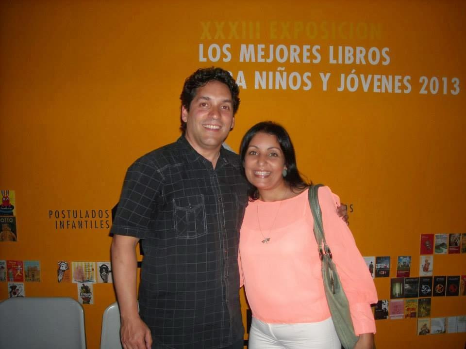 Con José Urriola en Caracas