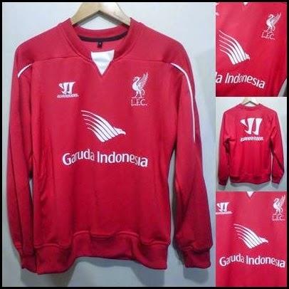 Sweater GO Liverpool Training Garuda Indonesia Red-Merah
