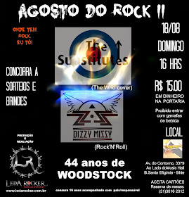 AGOSTO DO ROCK II