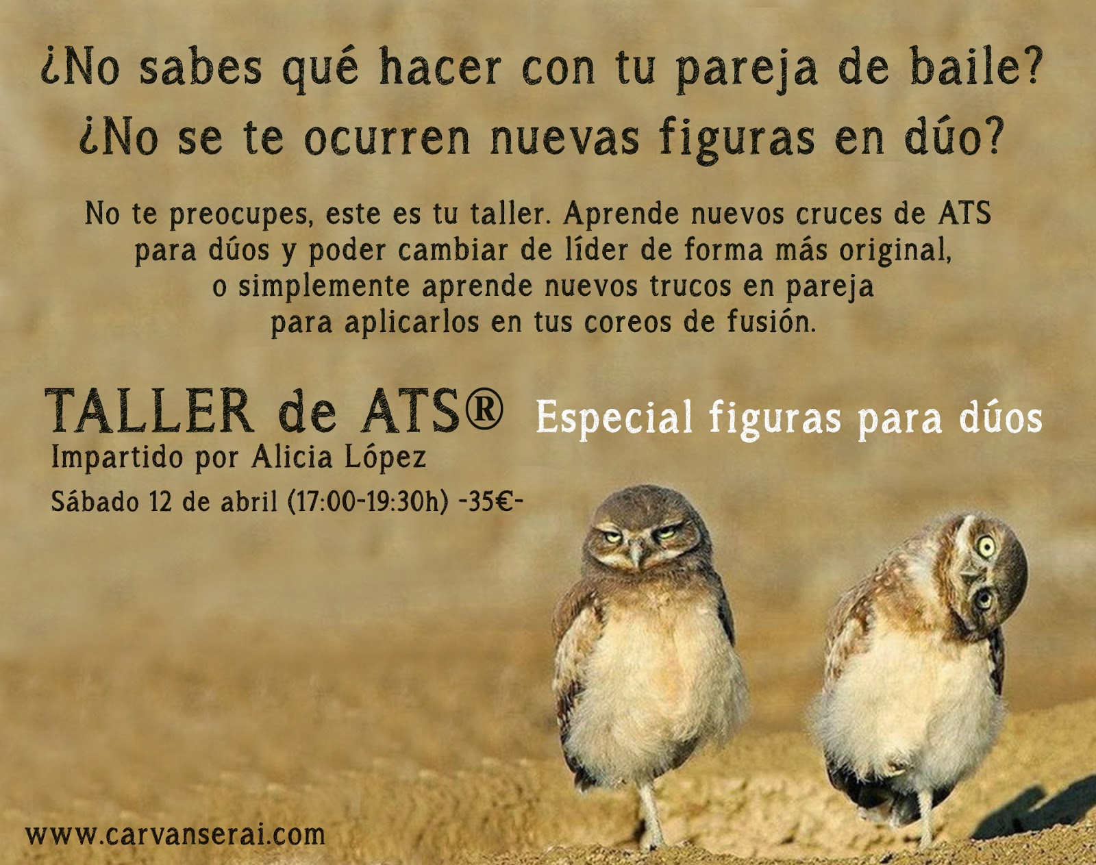 Taller de ATS en Madrid con Alicia Lopez