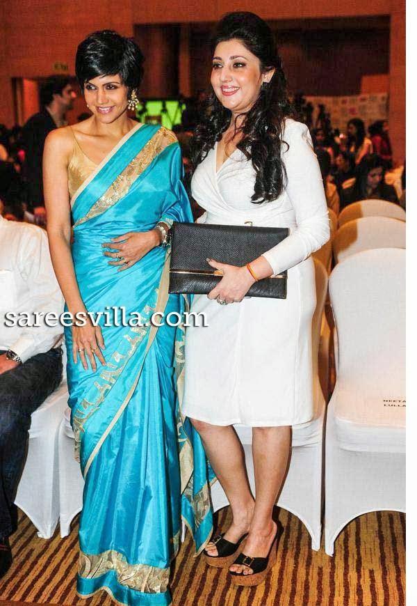 Mandira Bedi and Archana Kochhar At Lakme Fashion Week Press Conference