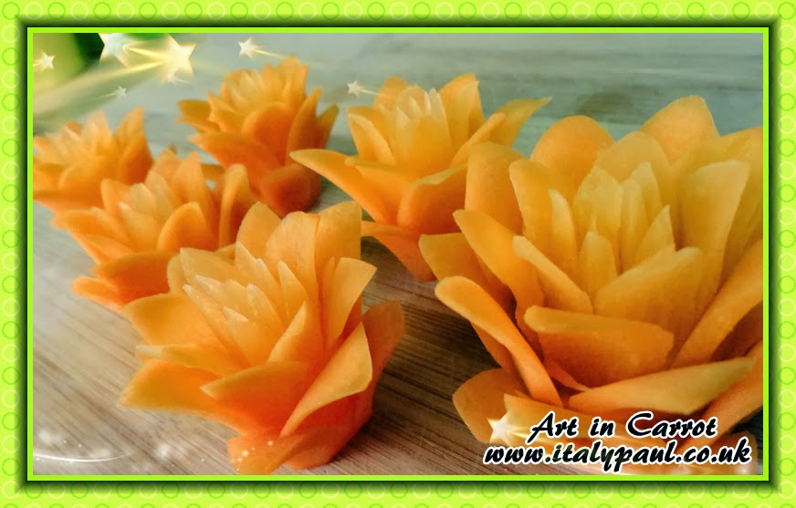 Italypaul art in fruit vegetable carving lessons