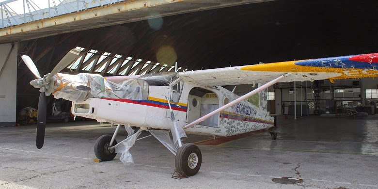 Pilatus PC 6 Turbo Porter restauracion